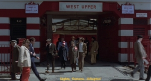 Fever Pitch - Arsenal Stadium - West Upper Entrance - FILM