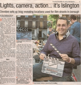 NEWS - Islington Gazette Article 26122013