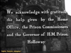 Turn the Key Soflty - Holloway Women Prison - FILM 01