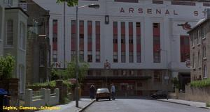 Fever Pitch - Arsenal Stadium - Main Entrance - FILM 01