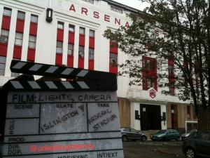 Fever Pitch - Arsenal Stadium - Main Entrance - MRX